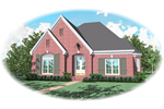 European House Plan Front of Home - 087D-0836 | House Plans and More