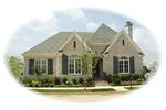 European House Plan Front of Home - 087D-0838 | House Plans and More