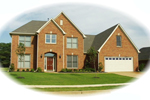 European House Plan Front of Home - 087D-0845 | House Plans and More