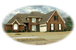 European House Plan Front of Home - 087D-0853 | House Plans and More