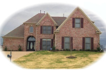 European House Plan Front of Home - 087D-0860 | House Plans and More
