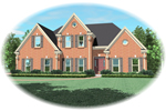 European House Plan Front of Home - 087D-0871 | House Plans and More
