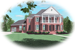 Southern Plantation Plan Front of Home - 087D-0875 | House Plans and More