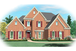 Colonial House Plan Front of Home - 087D-0880 | House Plans and More
