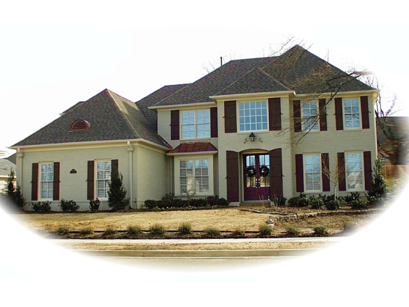 Colonial House Plan Front of Home - 087D-0881 | House Plans and More