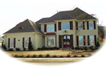 Colonial Floor Plan Front of Home - 087D-0881 | House Plans and More
