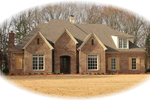 European House Plan Front of Home - 087D-0892 | House Plans and More