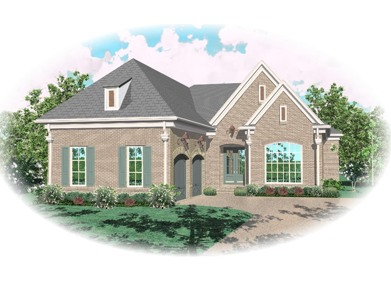Luxury House Plan Front of Home - 087D-0898 | House Plans and More