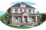 Lake House Plan Front of Home - 087D-0906 | House Plans and More