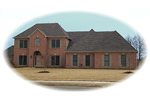 Traditional House Plan Front of Home - 087D-0907 | House Plans and More