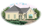 European House Plan Front of Home - 087D-0913 | House Plans and More
