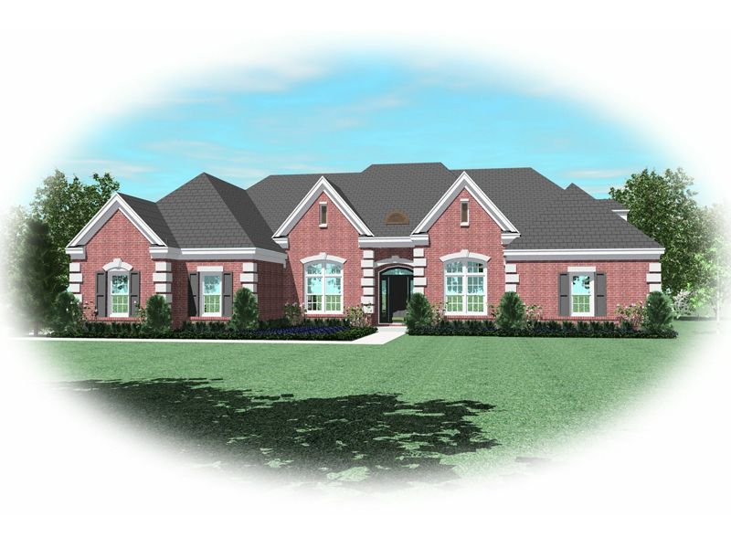 Country House Plan Front of Home - 087D-0915 | House Plans and More