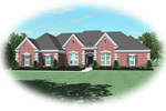 Greek Revival Home Plan Front of Home - 087D-0915 | House Plans and More