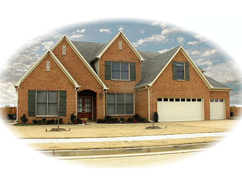 Southern House Plan Front of Home - 087D-0921 | House Plans and More