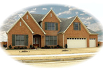 European House Plan Front of Home - 087D-0921 | House Plans and More