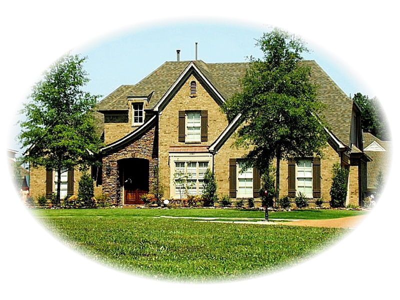 European House Plan Front of Home - 087D-0925 | House Plans and More