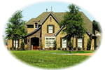 English Cottage House Plan Front of Home - 087D-0925 | House Plans and More