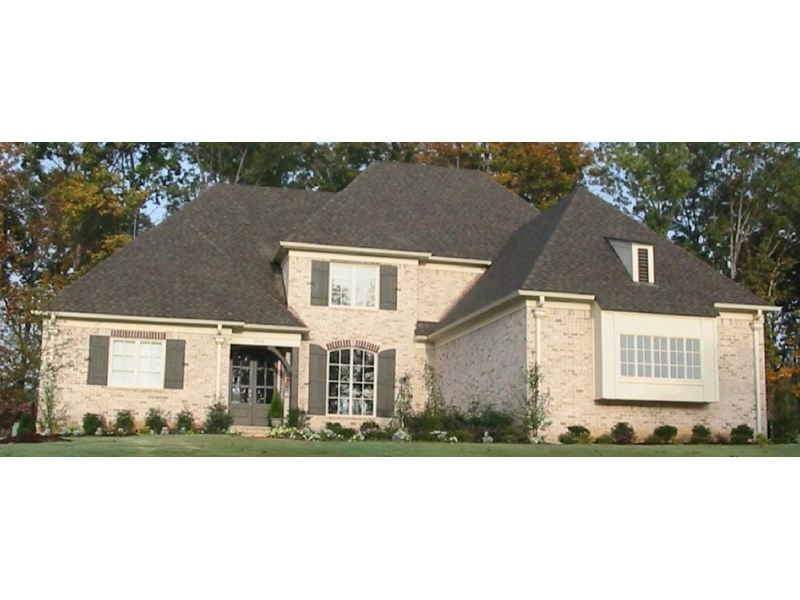 Country French Home Plan Front of Home - 087D-0927 | House Plans and More