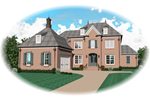 Luxury House Plan Front of Home - 087D-0931 | House Plans and More
