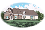Country House Plan Front of Home - 087D-0933 | House Plans and More