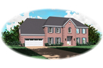 Colonial House Plan Front of Home - 087D-0935 | House Plans and More