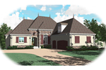European Home With Grand Exterior Features