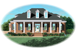 Southern Plantation House Plan Front of Home - 087D-0954 | House Plans and More