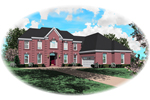 European House Plan Front of Home - 087D-0957 | House Plans and More