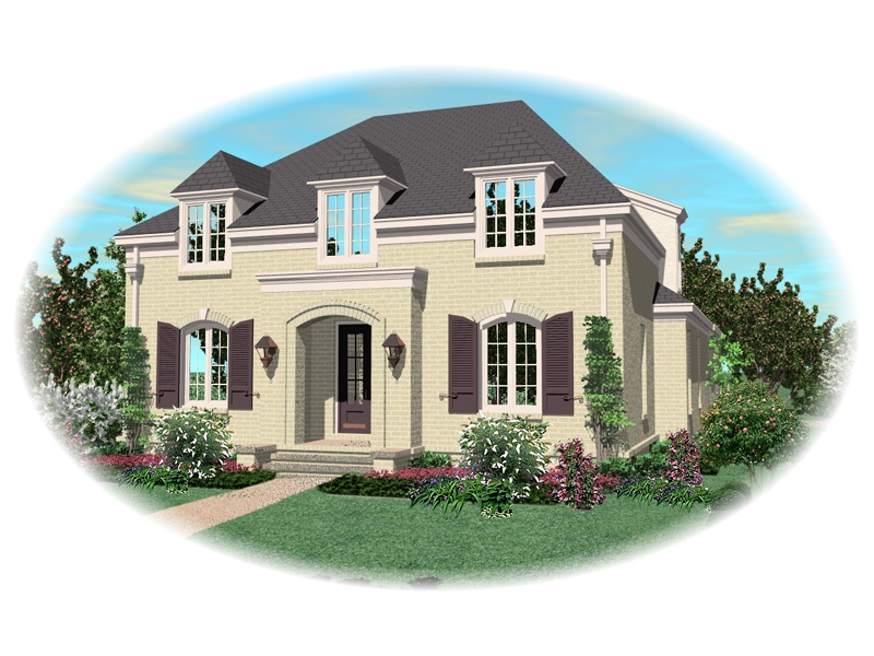 Luxury House Plan Front of Home - 087D-0958 | House Plans and More