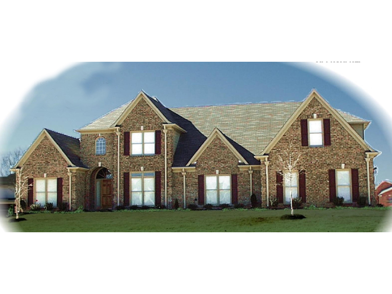 Luxury House Plan Front of Home - 087D-0962 | House Plans and More