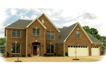 Traditional House Plan Front of Home - 087D-0965 | House Plans and More