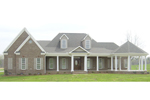 Acadian House Plan Front of Home - 087D-0971 | House Plans and More