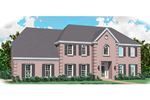 Greek Revival Home Plan Front of Home - 087D-0979 | House Plans and More