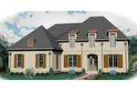 Southern House Plan Front of Home - 087D-1007 | House Plans and More