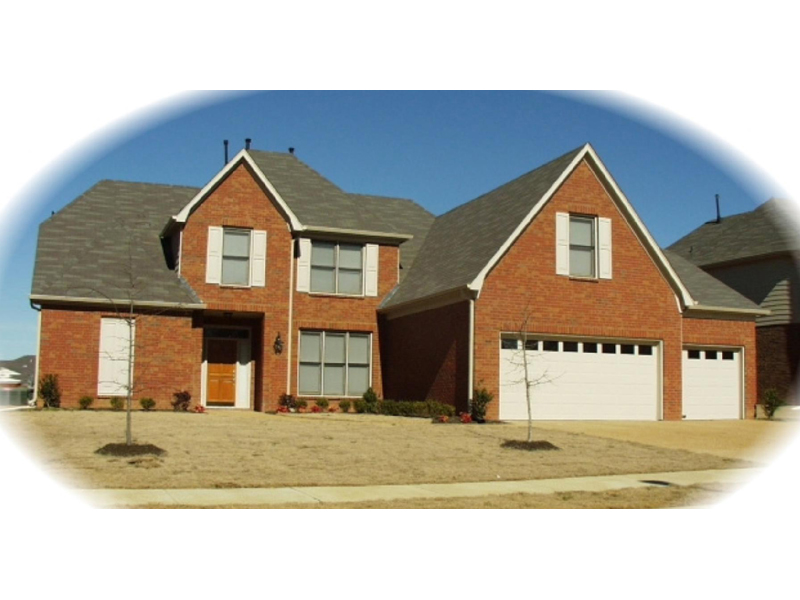 Traditional House Plan Front of Home - 087D-1011   House Plans and More