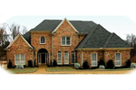 European House Plan Front of Home - 087D-1015 | House Plans and More