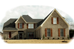 Southern House Plan Front of Home - 087D-1022 | House Plans and More