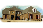 European House Plan Front of Home - 087D-1023 | House Plans and More