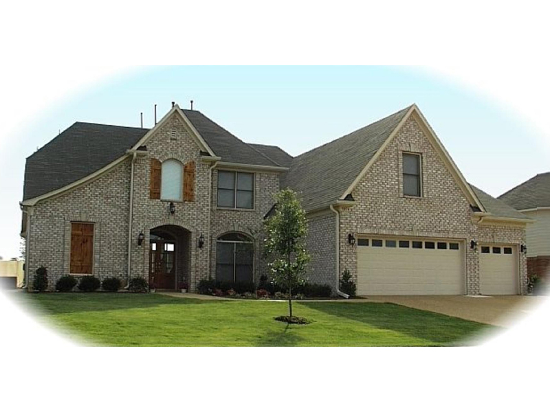 Country French House Plan Front of Home - 087D-1025 | House Plans and More