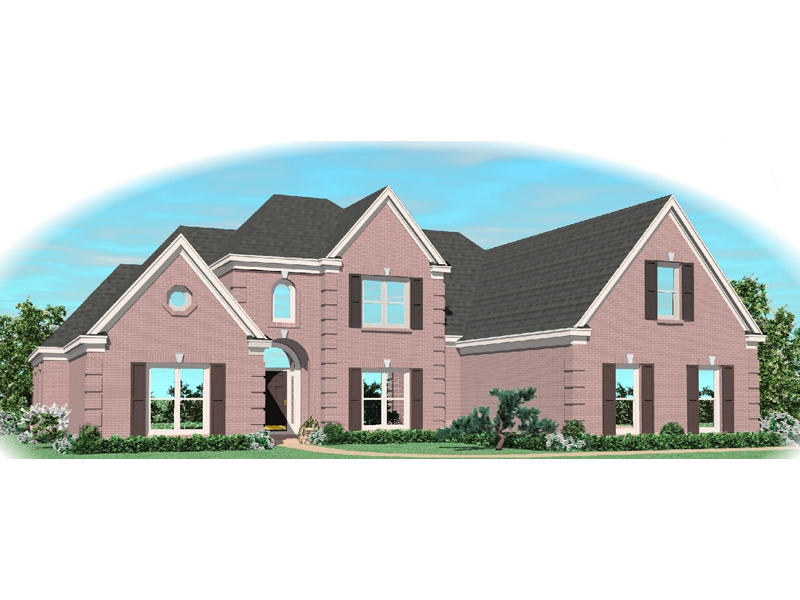 Country House Plan Front of Home - 087D-1031 | House Plans and More