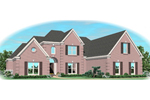 Southern House Plan Front of Home - 087D-1031 | House Plans and More