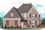 European House Plan Front of Home - 087D-1038 | House Plans and More