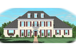 European House Plan Front of Home - 087D-1046 | House Plans and More