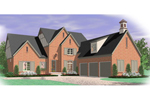 Southern House Plan Front of Home - 087D-1052 | House Plans and More