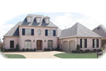 Colonial Floor Plan Front of Home - 087D-1060 | House Plans and More