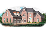 European House Plan Front of Home - 087D-1062 | House Plans and More