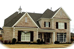 Traditional House Plan Front of Home - 087D-1071 | House Plans and More