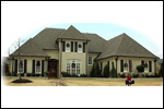 Traditional House Plan Front of Home - 087D-1076 | House Plans and More