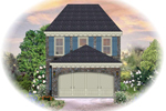 Colonial House Plan Front of Home - 087D-1201 | House Plans and More