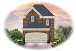 Traditional House Plan Front of Home - 087D-1205 | House Plans and More